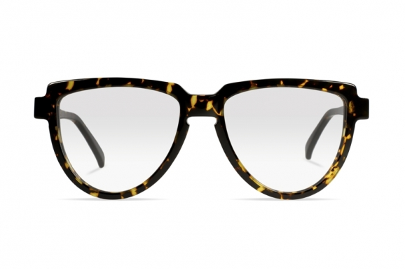 Urican 58BS, Tortoiseshell Acetate Aviator Optical Frame