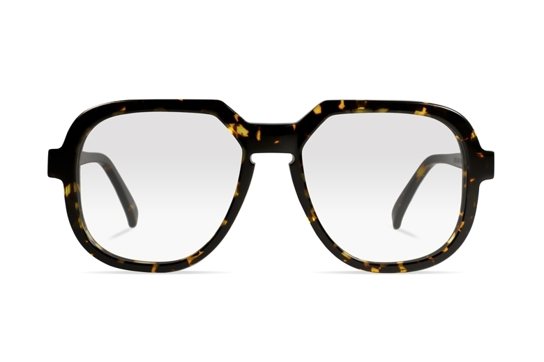 Urican 78BS, Tortoiseshell Acetate Oversized Optical Frame