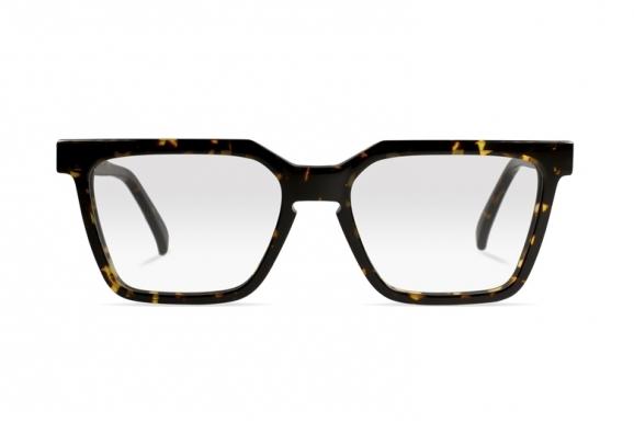 Urican 85BS, Tortoiseshell Acetate Rentangular Optical Frame