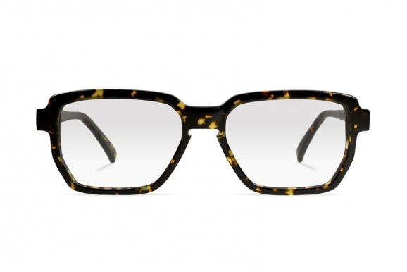 Urican 88BS, Tortoiseshell Acetate Hexagonal Optical Frame