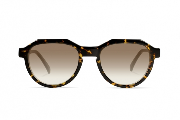 Urican 90BS, Tortoiseshell Acetate Pantoscopic Sunglasses