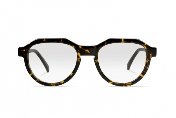 Urican 90BS, Tortoiseshell Acetate Pantoscopic Optical Frame