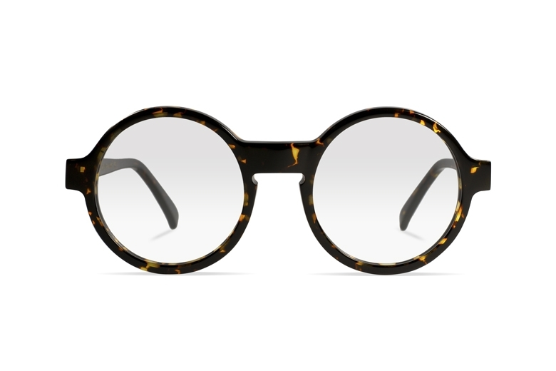 Urican 92BS, Tortoiseshell Acetate Round Optical Frame