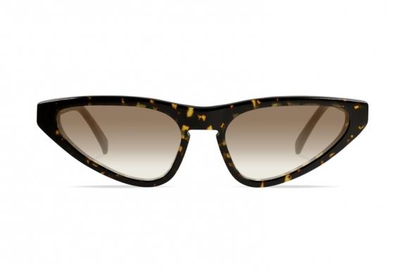 Urican 94BS, Tortoiseshell Acetate Butterfly Sunglasses