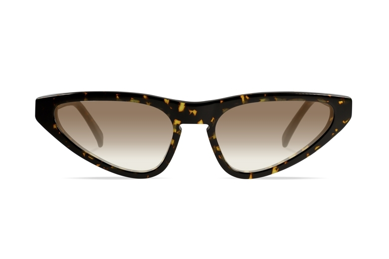Urican 94BS, Tortoiseshell Acetate Butterfly Sunglasses