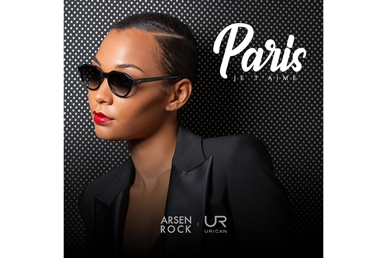 Paris, je t'aime - Arsen Rock x Urican - (EP - MP3 ALBUM)