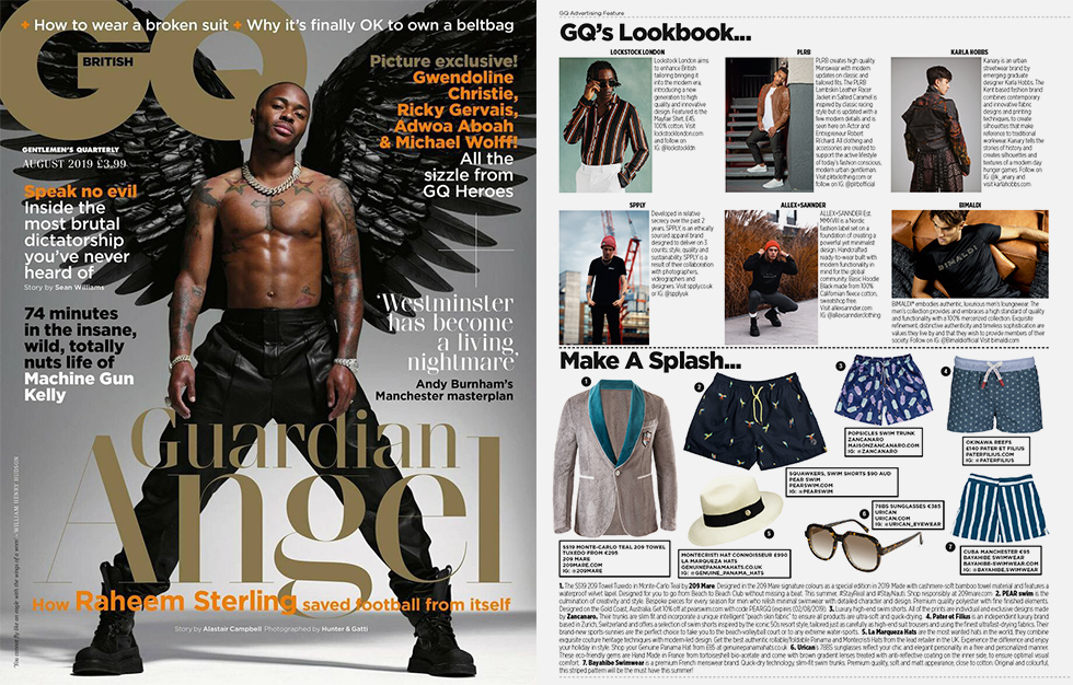 Urican dans GQ Magazine